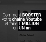 Comment BOOSTER votre chaîne Youtube et faire 1 MILLION en UN an